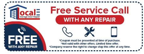 Local Garage door repair Tampa - coupon